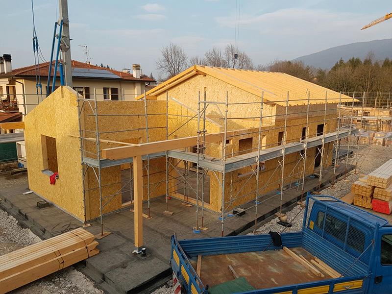 case prefabbricate in legno a Varese